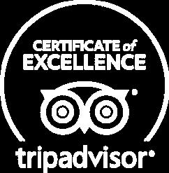 Trip Advisor Certificate of Excellence Logo
